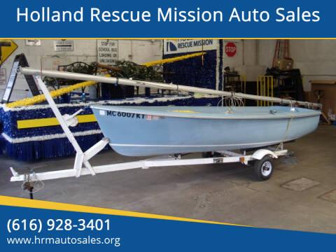 1979 Capri Sailboat OMEGA 14 for sale at Holland Rescue Mission Auto Sales in Holland MI