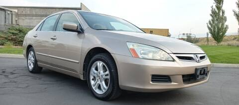 2006 Honda Accord for sale at AUTOMOTIVE SOLUTIONS in Salt Lake City UT