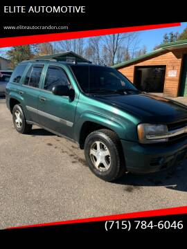 2005 Chevrolet TrailBlazer for sale at ELITE AUTOMOTIVE in Crandon WI