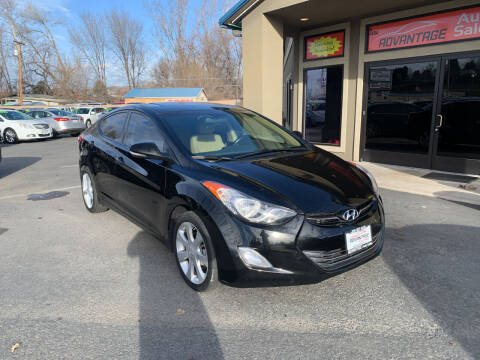 2013 Hyundai Elantra for sale at Advantage Auto Sales in Garden City ID
