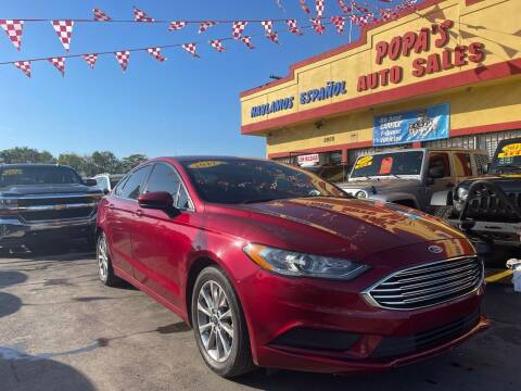 2017 Ford Fusion for sale at Popas Auto Sales in Detroit MI