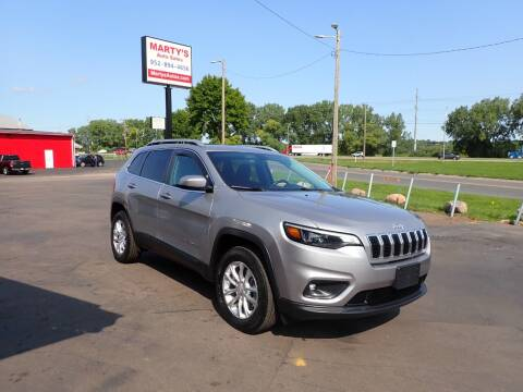 2019 Jeep Cherokee for sale at Marty's Auto Sales in Savage MN