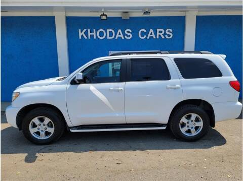 2010 Toyota Sequoia for sale at Khodas Cars in Gilroy CA