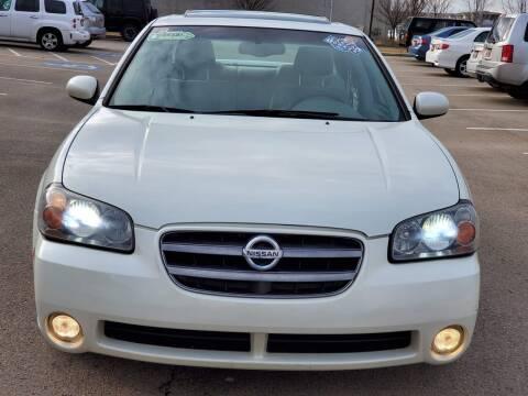 2003 Nissan Maxima for sale at FRESH TREAD AUTO LLC in Springville UT
