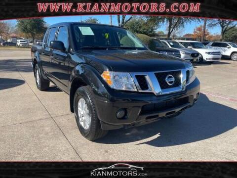 2019 Nissan Frontier for sale at KIAN MOTORS INC in Plano TX