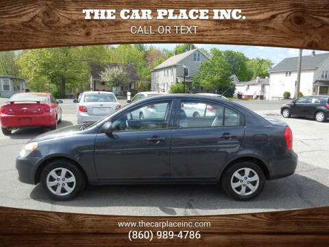 2011 Hyundai Accent for sale at THE CAR PLACE INC. in Somersville CT