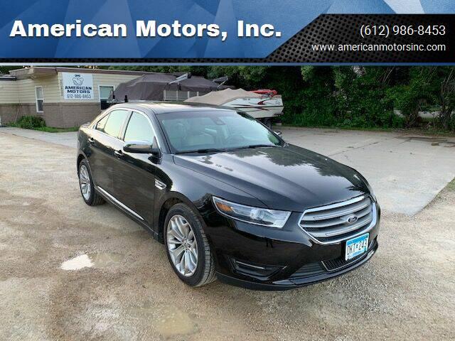 2014 Ford Taurus for sale at American Motors, Inc. in Farmington MN