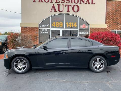 2012 Dodge Charger for sale at Professional Auto Sales & Service in Fort Wayne IN