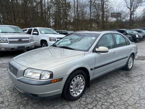 2000 Volvo S80 for sale at Car Online in Roswell GA