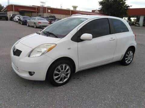 2007 Toyota Yaris for sale at L G AUTO SALES in Boynton Beach FL