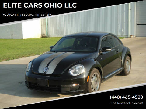 2012 Volkswagen Beetle for sale at ELITE CARS OHIO LLC in Solon OH