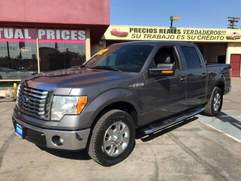 2012 Ford F-150 for sale at Sanmiguel Motors in South Gate CA
