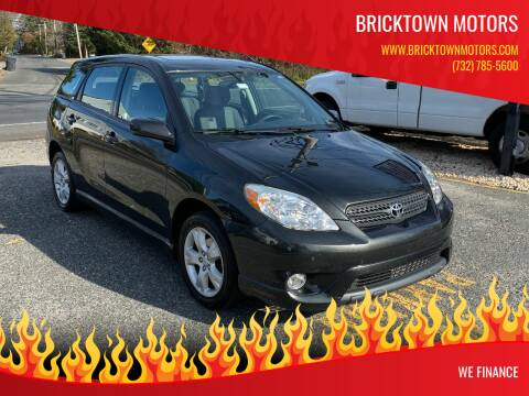 2006 Toyota Matrix for sale at Bricktown Motors in Brick NJ