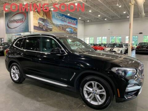 2018 BMW X3 for sale at Godspeed Motors in Charlotte NC
