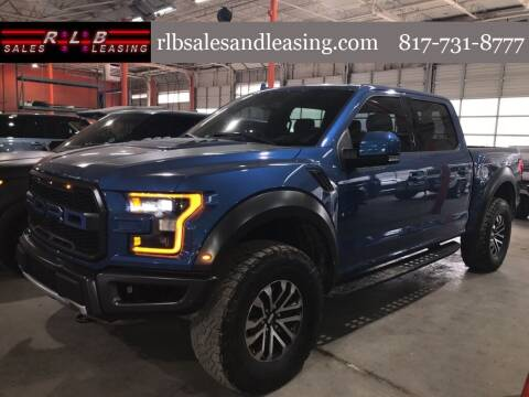 2020 Ford F-150 for sale at RLB Sales and Leasing in Fort Worth TX