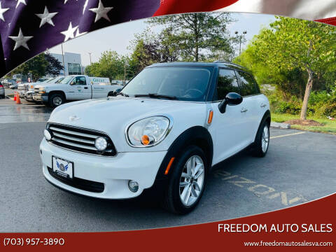 2012 MINI Cooper Countryman for sale at Freedom Auto Sales in Chantilly VA