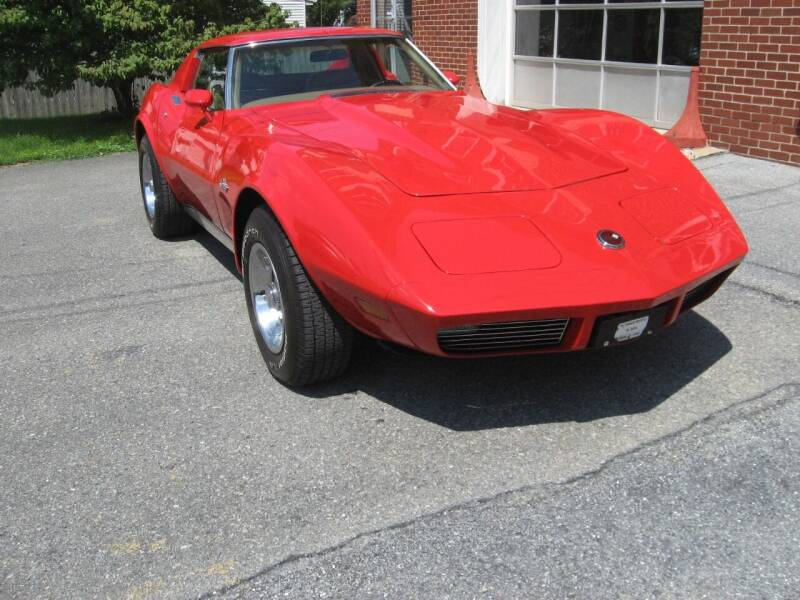 1973 Chevrolet Corvette for sale at Jacksons Auto Sales in Landisville PA