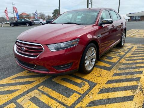 2015 Ford Taurus for sale at Auto America - Monroe in Monroe NC