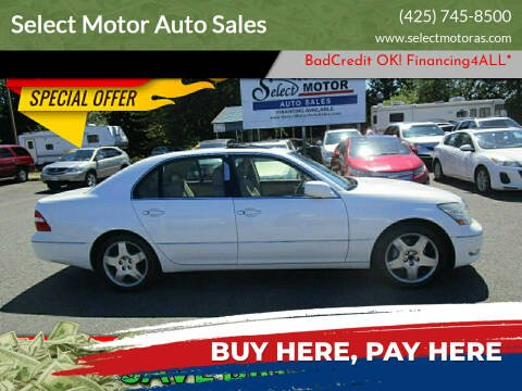 2005 Lexus LS 430 for sale at Select Motor Auto Sales in Lynnwood WA