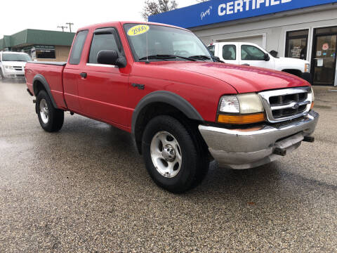 2000 Ford Ranger for sale at Perrys Certified Auto Exchange in Washington IN