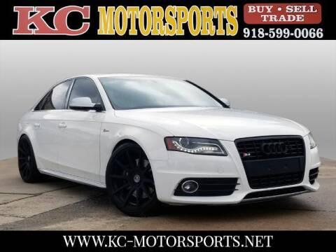 2011 Audi S4 for sale at KC MOTORSPORTS in Tulsa OK