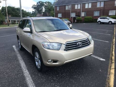 2010 Toyota Highlander for sale at DEALS ON WHEELS in Moulton AL