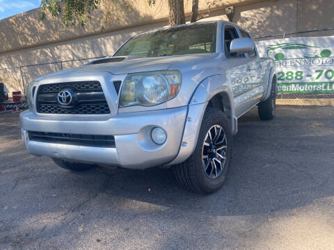 2011 Toyota Tacoma for sale at GO GREEN MOTORS in Lakewood CO