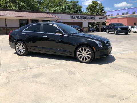 2013 Cadillac ATS for sale at Texas Auto Broker in Killeen TX