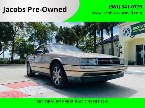 1991 Cadillac Allante for sale at Jacobs Pre-Owned in Lake Worth FL