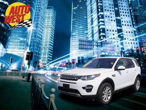 2017 Land Rover Discovery Sport for sale at Autowest of Plainwell in Plainwell MI