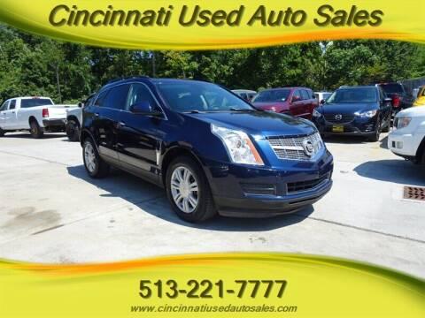 2010 Cadillac SRX for sale at Cincinnati Used Auto Sales in Cincinnati OH