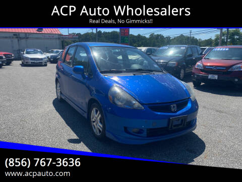 2007 Honda Fit for sale at ACP Auto Wholesalers in Berlin NJ