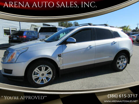 2012 Cadillac SRX for sale at ARENA AUTO SALES,  INC. in Holly Hill FL