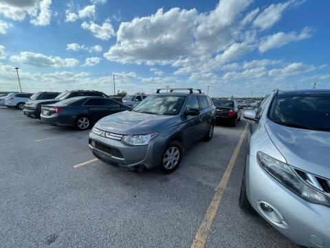 2014 Mitsubishi Outlander for sale at Hatimi Auto LLC in Austin TX