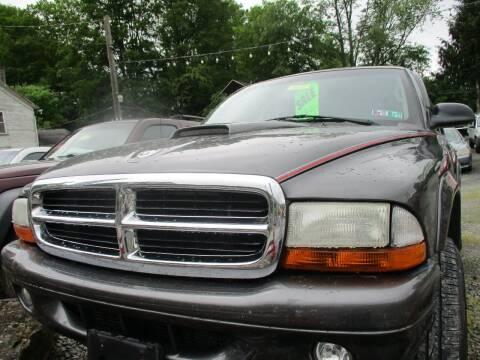 2001 Dodge Durango for sale at FERNWOOD AUTO SALES in Nicholson PA