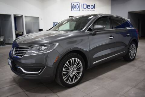 2017 Lincoln MKX for sale at iDeal Auto Imports in Eden Prairie MN