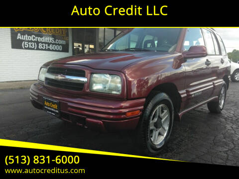 2003 Chevrolet Tracker for sale at Auto Credit LLC in Milford OH