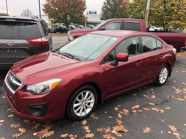 2014 Subaru Impreza for sale at BATTENKILL MOTORS in Greenwich NY