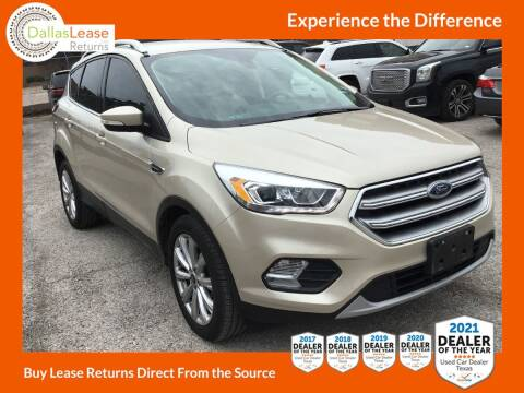 2017 Ford Escape for sale at Dallas Auto Finance in Dallas TX
