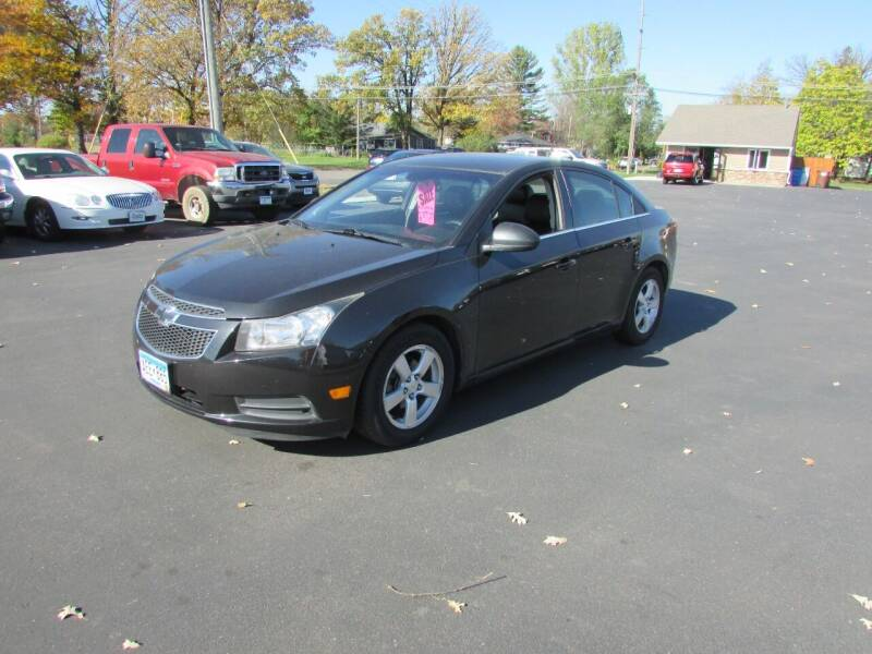 2011 Chevrolet Cruze for sale at Fedder Motors in Mora MN