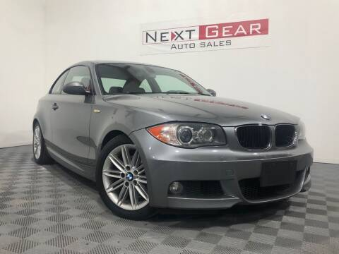 2009 BMW 1 Series for sale at Next Gear Auto Sales in Westfield IN