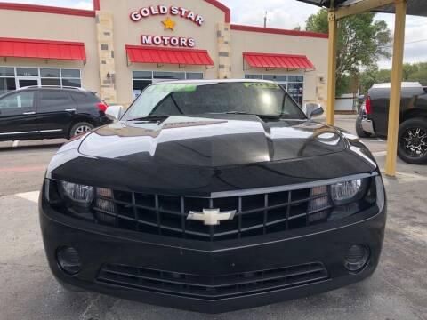 2013 Chevrolet Camaro for sale at Gold Star Motors Inc. in San Antonio TX
