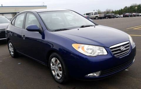 2009 Hyundai Elantra for sale at Angelo's Auto Sales in Lowellville OH