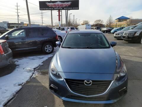 2016 Mazda MAZDA3 for sale at Washington Auto Group in Waukegan IL