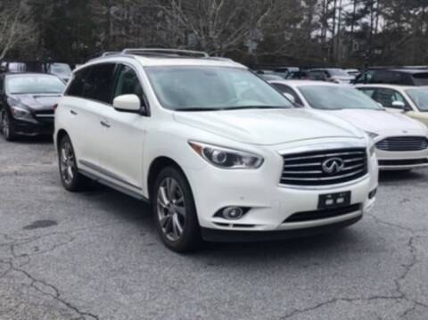 2013 Infiniti JX35 for sale at DON BAILEY AUTO SALES in Phenix City AL