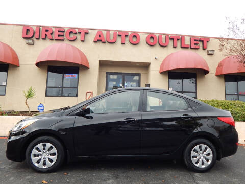 2017 Hyundai Accent for sale at Direct Auto Outlet LLC in Fair Oaks CA