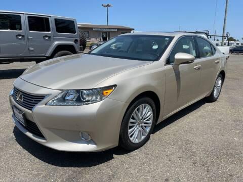 2014 Lexus ES 350 for sale at Deruelle's Auto Sales in Shingle Springs CA