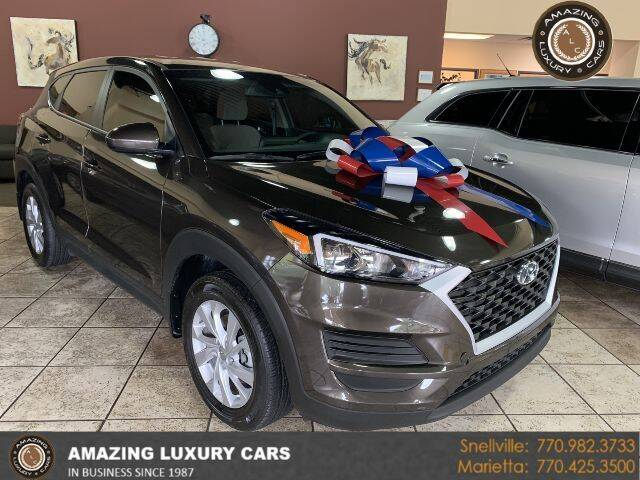 2019 Hyundai Tucson for sale at Amazing Luxury Cars in Snellville GA