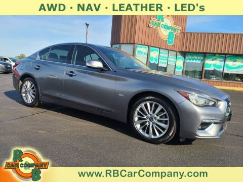 2018 Infiniti Q50 for sale at R & B Car Co in Warsaw IN
