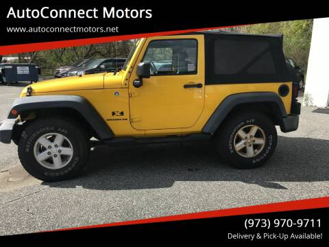 2008 Jeep Wrangler for sale at AutoConnect Motors in Kenvil NJ